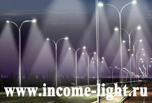 уличное освещение на светодиодах